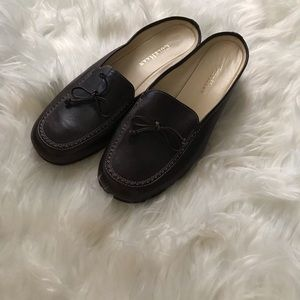 Cole Haan brown leather slip on loafer sz 9